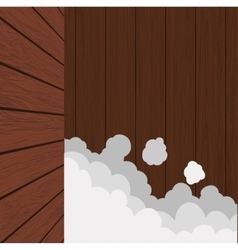 Bubbles wood material wallpaper background icon vector