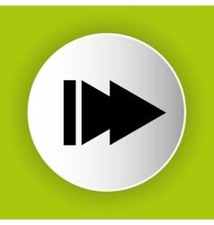 Next play icon symbol design vector image vector image