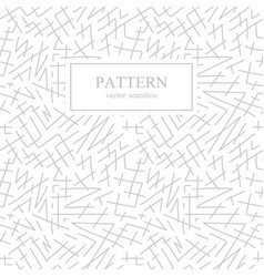seamless stripes sketch pattern hand drawn design vector image vector image