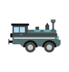 Train locomotive icon vector