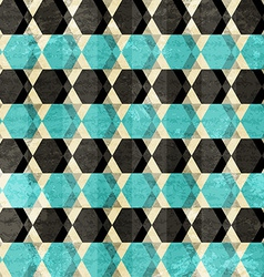 Retro rhombus seamless pattern vector
