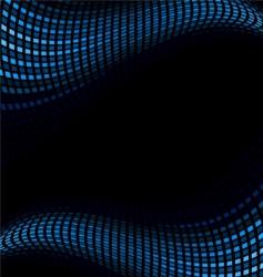 glow back vector image vector image