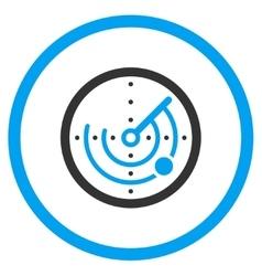Radar Flat Icon vector image