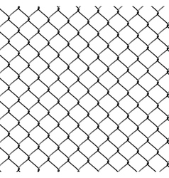 Realistic steel netting vector