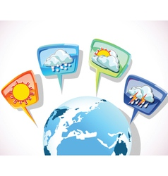 forecast vector image