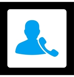 Phone support icon from commerce buttons overcolor vector