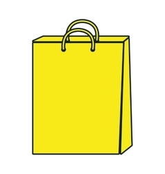 Shopping items isolated flat icon vector