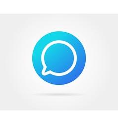 App icon template gradient fresh color vector