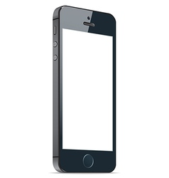 Black mobile apple iphone 5s and iphone 6 plus vector
