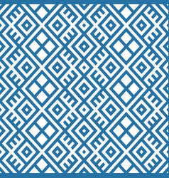 geometric seamless ethnic pattern background in vector image