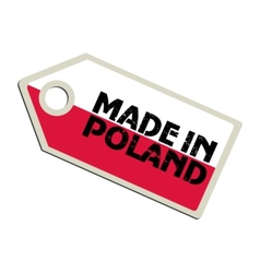Made in Poland vector image