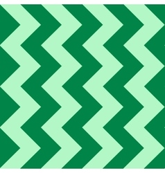 Abstract pattern with green zigzag vector