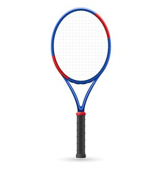 Tennis racket vector