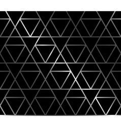 Forged seamless background with triangles vector