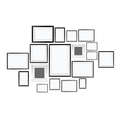 Picture frame art vector