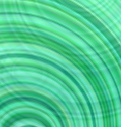 Green abstract concentric circle design background vector