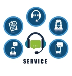 Online support design vector