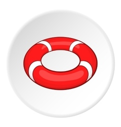 Lifeline icon cartoon style vector
