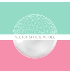 Sphere - design elements vector