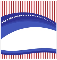 Background flag american vector