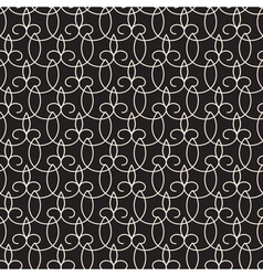 Abstract lace pattern vector image