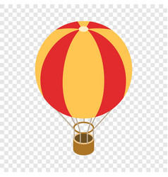 balloon isometric icon vector image