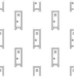 cabinet for locker rooms vector image