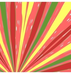 Color striped background vector