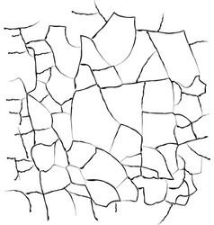 cracks texture vector image