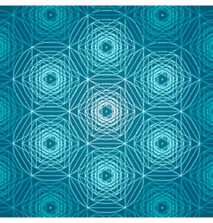 Sacred geometry symbols and elements background vector image