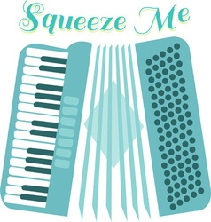 Squeeze accordion vector