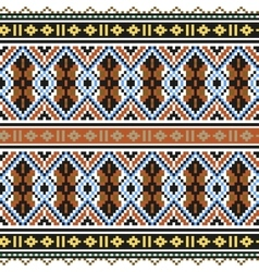 Trendy contemporary ethnic seamless pattern vector image
