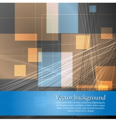 Abstract concept template vector