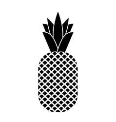 Pineapple tropical fruit vector