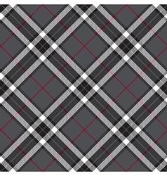 Gray seamless diagonal tartan vector