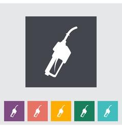 refueling nozzle vector image vector image