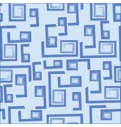 Seamless blue background vector image vector image