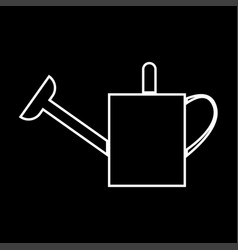 watering can it is icon vector image vector image