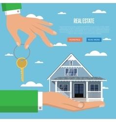 Real estate agency vector