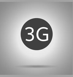 3g icon 3g symbol vector image vector image