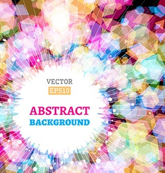 Bright background with light effects vector image