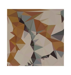 Cornsilk brown abstract low polygon background vector