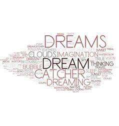 Dreams word cloud concept vector