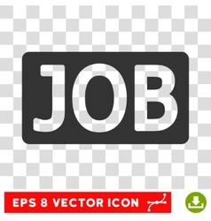 Job text eps icon vector