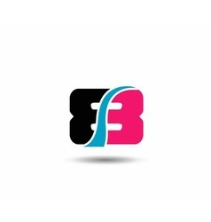 Number eight 8 logo icon template elements vector