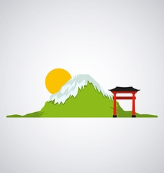 Japan country vector