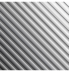 Striped metal background vector
