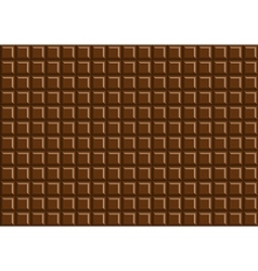 Dark chocolate bar background texture vector