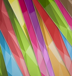 abstract background color inclined lines vector image vector image