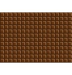 Dark chocolate bar background texture vector